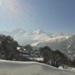 Le village en neigé